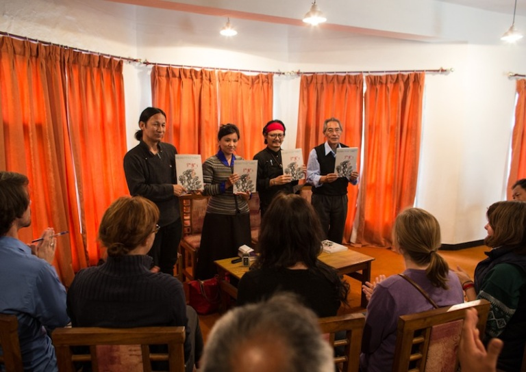 Tibet Writes organized a book launch event featuring a panel discussion on the Tibet issue.
